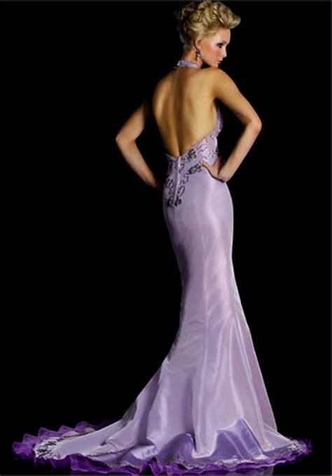 Purple And White Mermaid  Ee  Wedding Ee   Dresses Naf Dresses