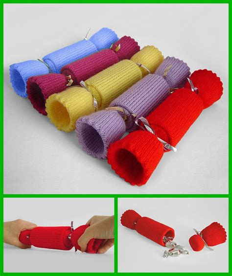 knitting pattern christmas cracker clare scope farrell novelty knitting patterns news