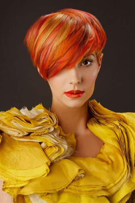 hairstyles colored bangs 14 most striking colored hairstyles for 2014 pretty designs