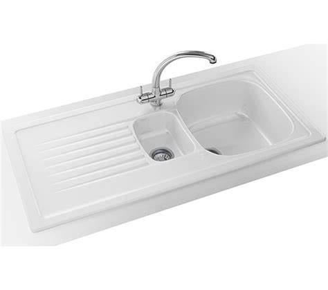 franke ceramic kitchen sinks franke elba propack elk 651 ceramic white inset sink and
