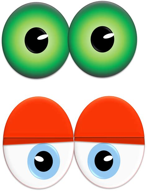 Printable Mummy Eyes | throw a monster eyes party the life of the party