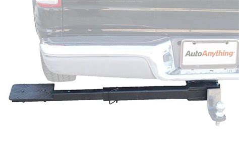 truck bed side step great day side step truck step telescoping trailer hitch