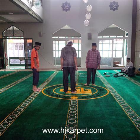 Karpet Bandung pemasangan karpet masjid al hidayah bandung hjkarpet