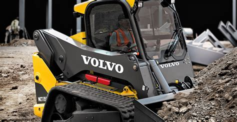compact track loaders skid steer loaders volvo construction equipment