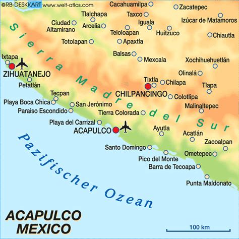 map of mexico acapulco 301 moved permanently