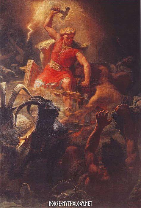thor s thor the god of thunder in norse mythology