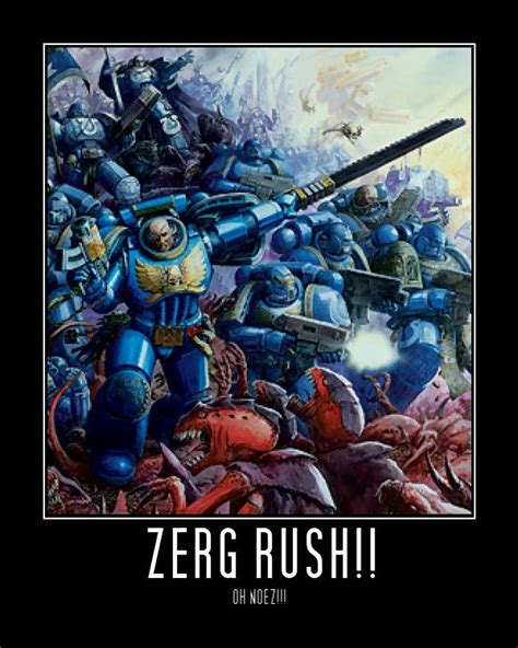 Zerg Rush Know Your Meme - image 104586 zerg rush know your meme