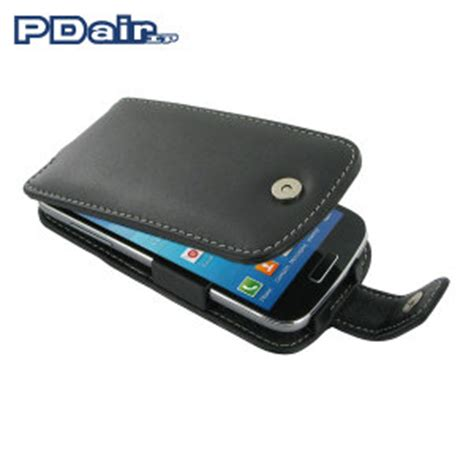 Leather Flip Cover Casing Samsung Galaxy S4 Baby Blue pdair leather flip and slide for samsung galaxy s4 mini black