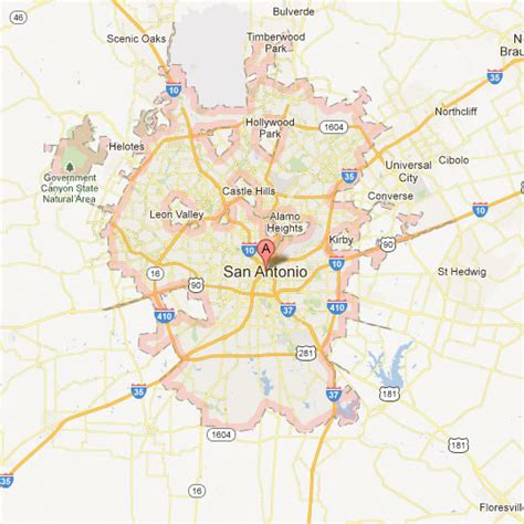 maps san antonio texas san antonio map tour texas