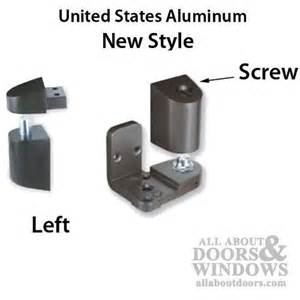 Us Aluminum Storefront Pivot Hinge Kit Left