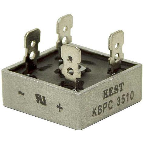dioda bridge 35a buy kbpc3510 1000v 35a bridge fairchild diode with cheap price