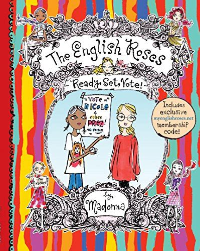 libro the english roses libro the english roses ready set vote di madonna