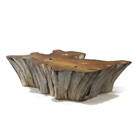 teak root table 3d teak root coffee table