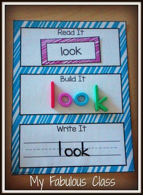 25 best ideas about spelling read it build it write it sight words literacy for