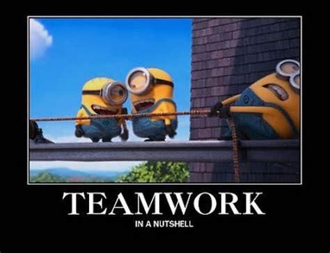 Team Work Meme - minion memes and quotes teamwork wattpad
