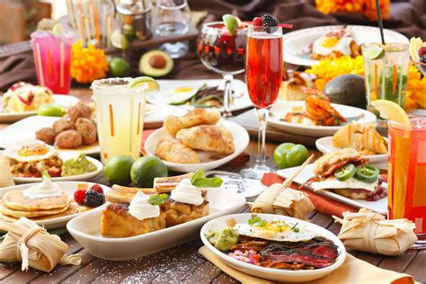 sunday brunch buffet menu border grill s all you can eat brunch menu brings spice to