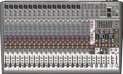Daftar Mixer Behringer 24 Channel behringer sx2442fx eurodesk 24 channel 4 mixer