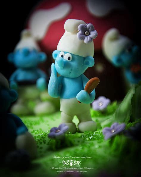 puffo vanitoso dolcezze per l anima monnalisa s cakes i puffi in
