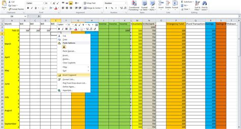 3 essential tips for creating a budget spreadsheet