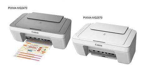 Tinta Printer Pixma Mg2570 Canon Hadirkan Produk 2 Printer Baru Pixma Mg2470 Dan