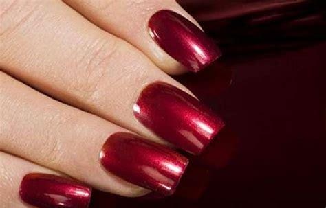 imagenes de uñas acrilicas gelish u 241 as decoradas color vino tinto u 241 asdecoradas club