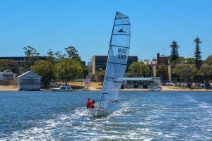 dinghy boat hire perth javelin perth dinghy sailing club sportstg