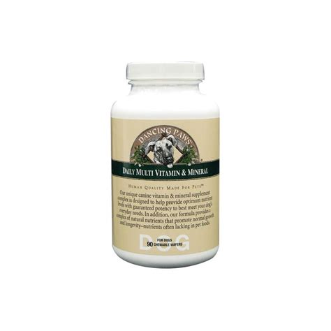 mineral for dogs daily multi vitamin mineral for dogs 90 ct