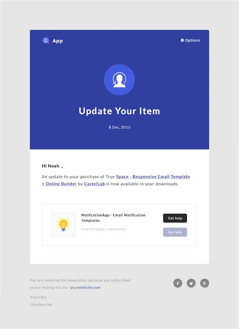 it notification email template notificationapp responsive notification email html