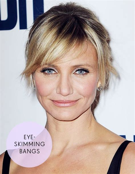hairstyles for square jawline hairstyles for square faces face shapes cameron diaz