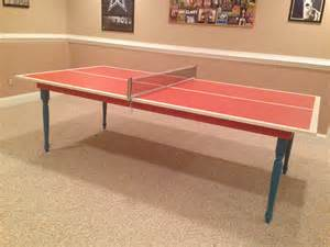 Diy Ping Pong Table Diy Ping Pong Table Diy Pinterest