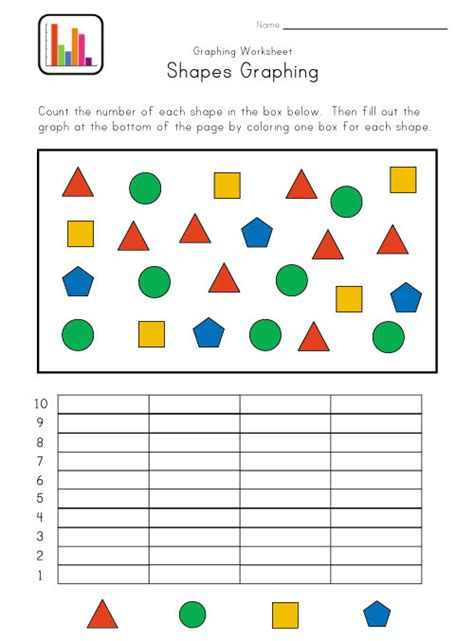 printable graphs for preschoolers number names worksheets 187 kindergarten graphs free