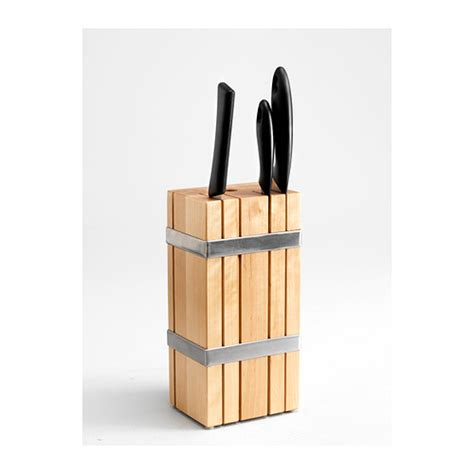 kitchen knives storage ikea kitchen knife block holder rack box wood new ebay