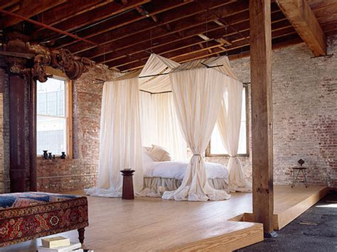 bedroom warehouse loft in ny the style files