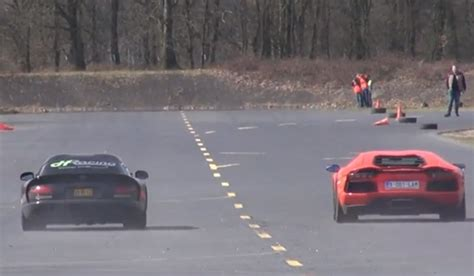 Viper Vs Lamborghini Heffner Dodge Viper Vs Lamborghini Aventador And Nissan Gt