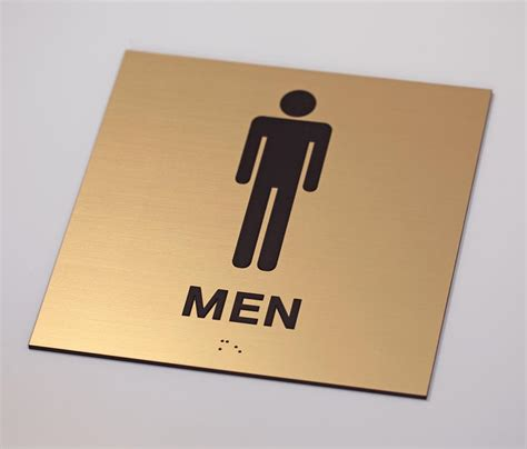 Bathroom Signs For Office Ada Mens Womens Braille Restroom Signs Ada Braille Bathroom Signs