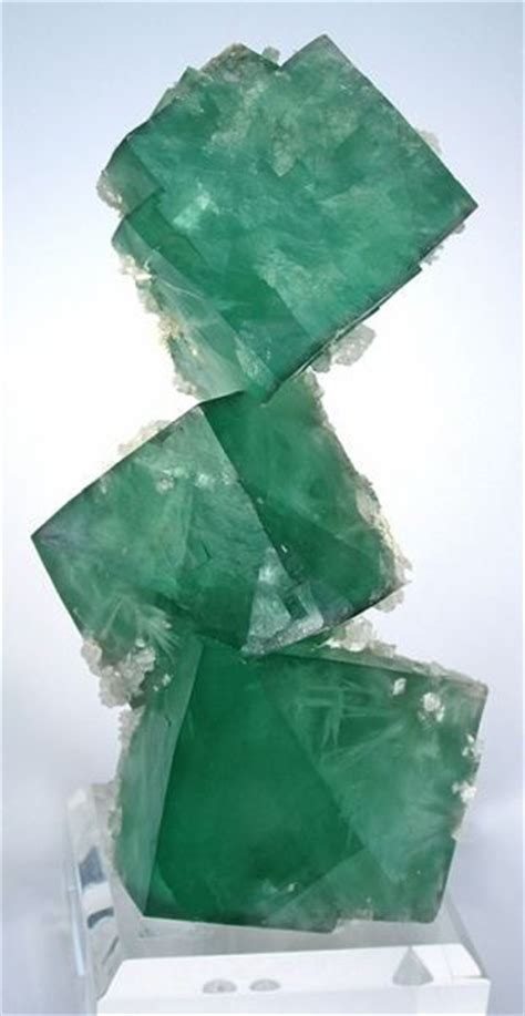 Green Brazil Fluorite green fluorite with aragonite inclusions russia