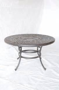 Patio Table Only Elizabeth Outdoor Patio Bar Table Only Bronze Cast