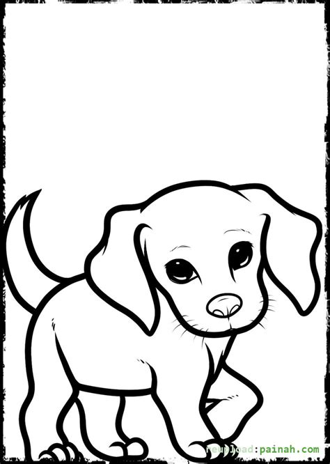 cute puppies coloring pages printable print litle pups