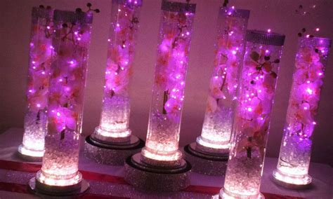 Waterproof Led Lights For Vases Image Gallery Led Lights For Centerpieces