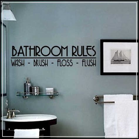 bathroom sink decals bathroom wall decals and decoration alternatives for