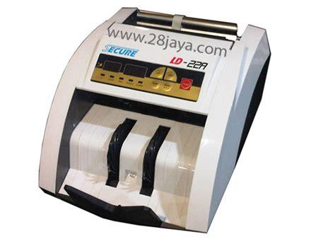 Mesin Hitung Uang Secure Ld 22 mesin penghitung uang secure ld 22a pabx panasonic