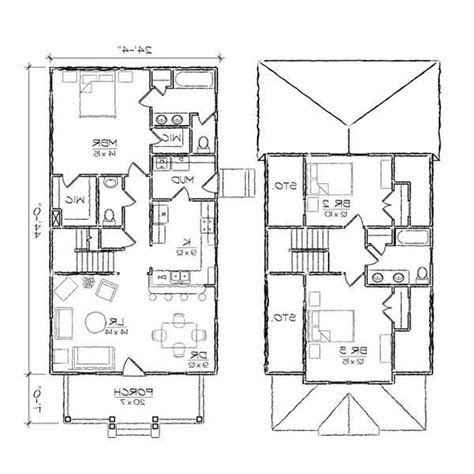 small key west home plans