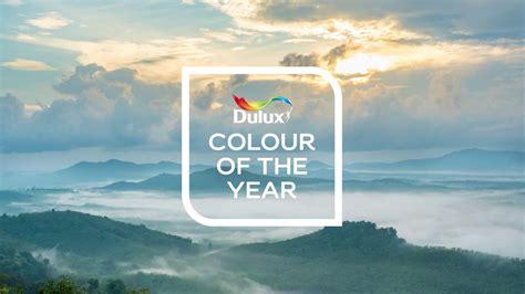 dulux colour   year  tranquil dawn big