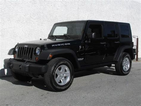 2010 Jeep For Sale 2010 Jeep Wrangler Rubicon 4 215 4 For Sale