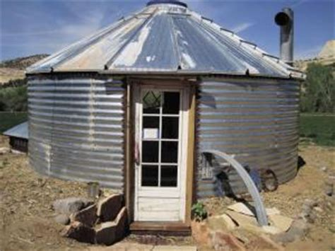 Grain Bin Shed by Farm Show Grain Bin Root Cellar Doubles As Storage Shed