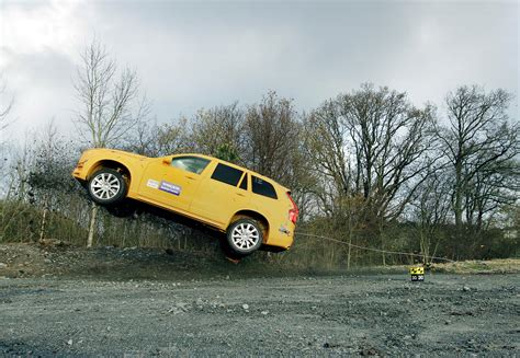 girls inspired volvos crazy  xc crash test video bestride