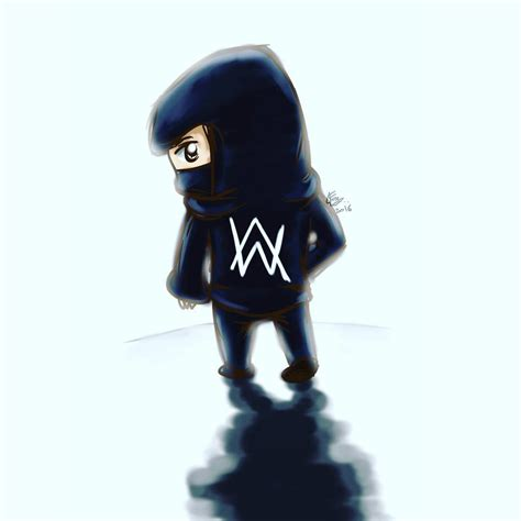 Alan Walker Cartoon | alan walker by 5uxuan on deviantart