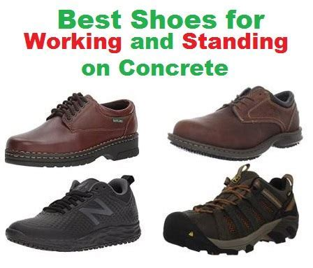 Top 20 Best Shoes for working and Standing on Concrete in 2018