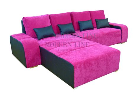 Pink Sectional Sofa Interesting Pink Sectional Sofa 22 In C Shaped Sectional Sofa With Pink Sectional Sofa