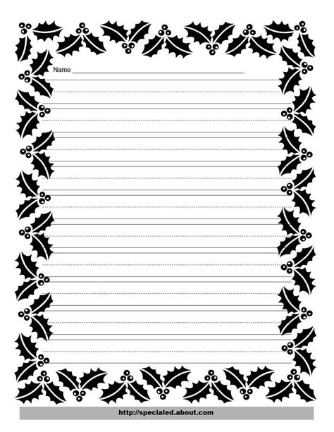 writing paper borders prject paper border new calendar template site